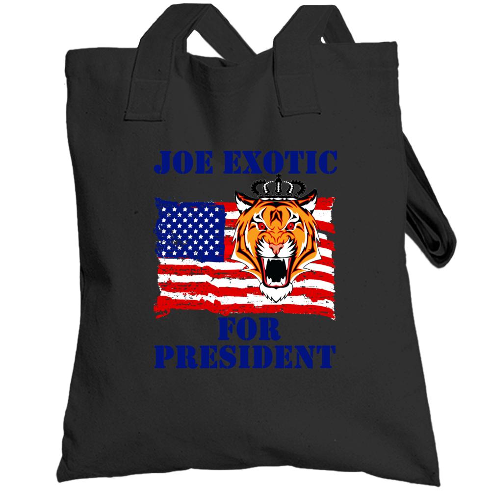 Joe Exotic For President Fan Totebag