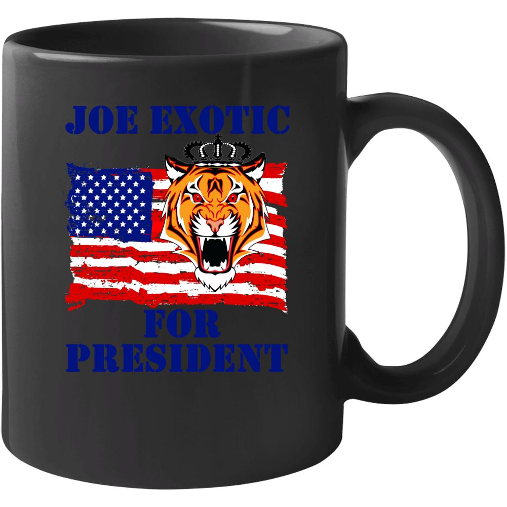 Joe Exotic For President Fan Mug