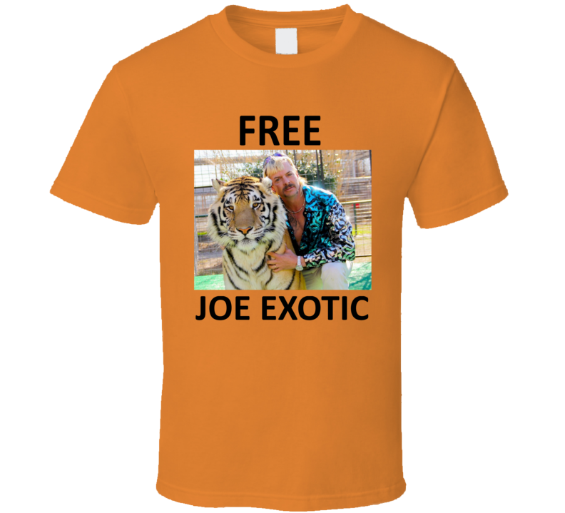 Free Joe Exotic Fan T Shirt
