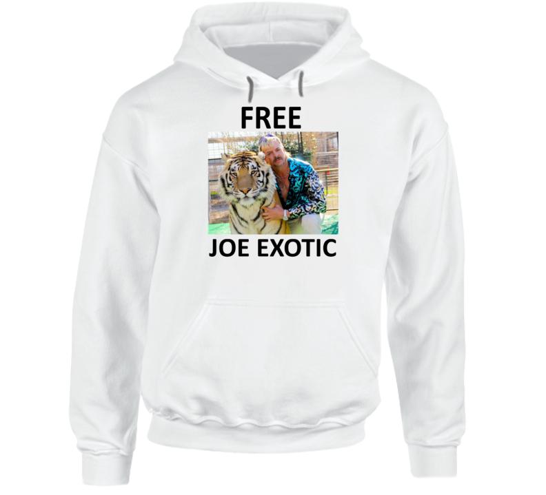 Free Joe Exotic Fan Support Hoodie
