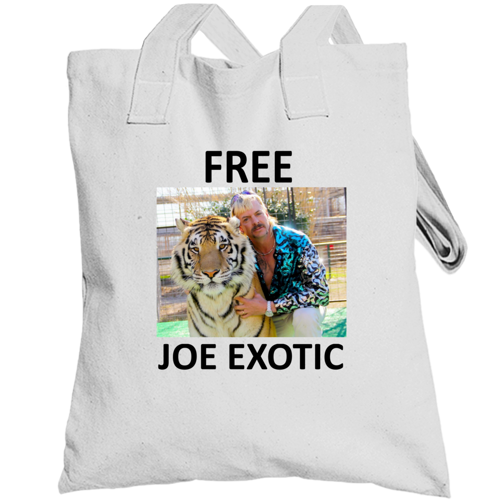 Free Joe Exotic Fan Support Totebag