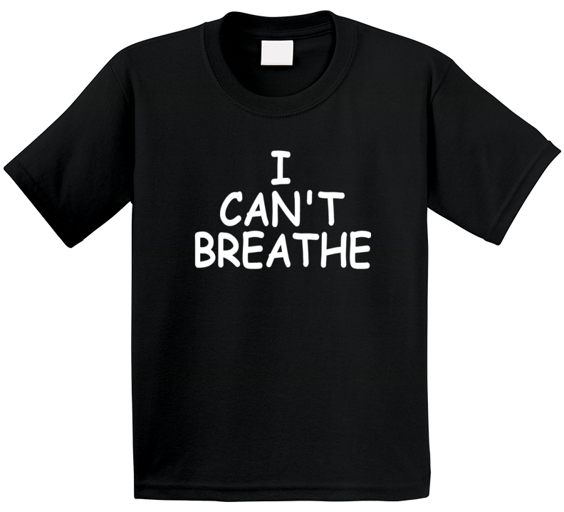 I Can't Breathe Support George Floyd Protest Thsirt T Shirt