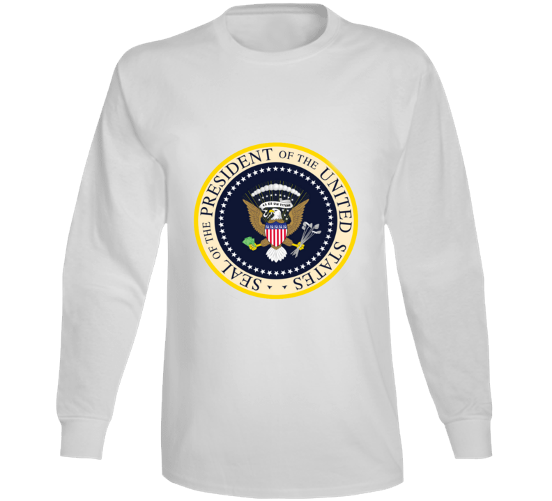 Fake Presidential Seal Donald Trump Inspired Long Sleeve