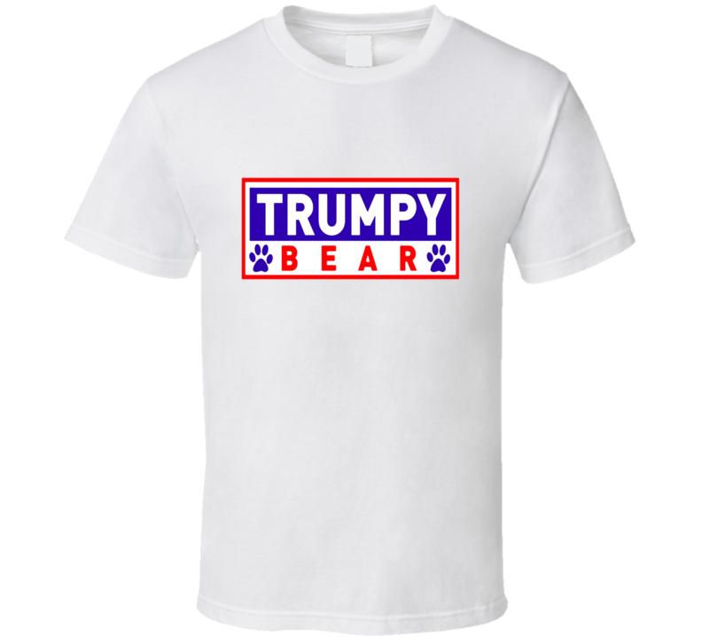 Trumpy Bear Logo Graphic T Shirt