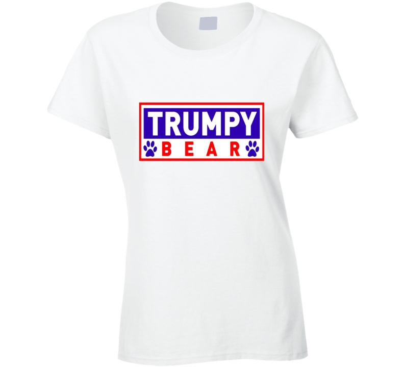 Trumpy Bear Logo Graphic Ladies T Shirt