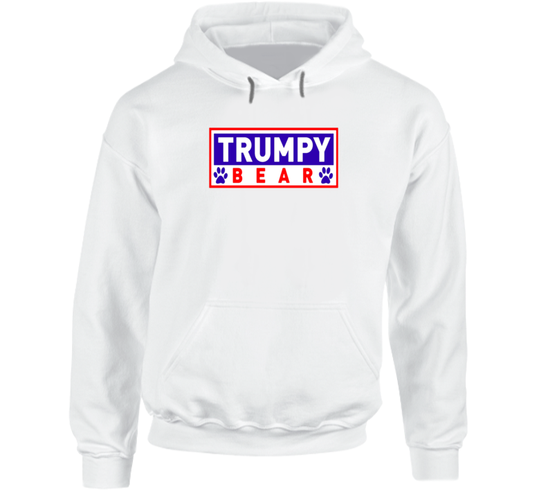Trumpy Bear Logo Graphic Hoodie