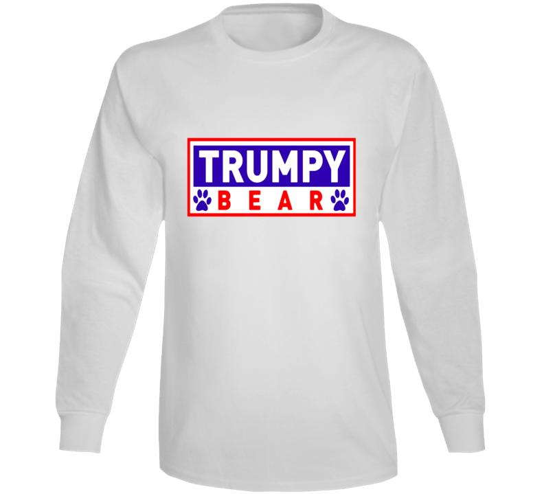 Trumpy Bear Logo Graphic Long Sleeve