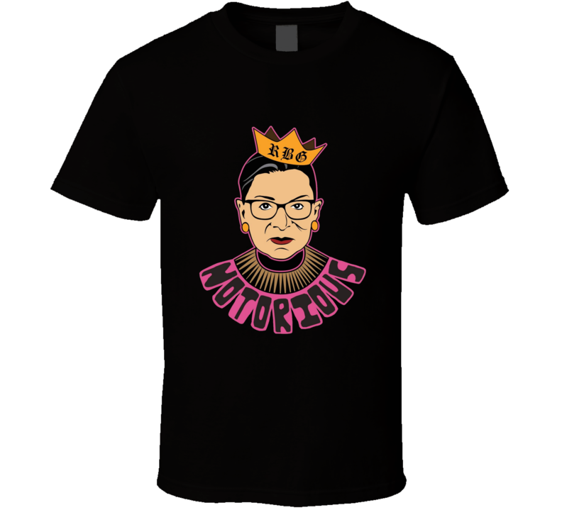 Notorious Ruth Bader Ginsburg Feminist Graphic T Shirt