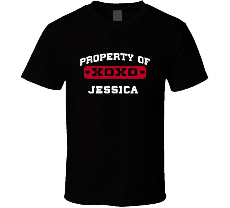 Property Of Heart Jessica T Shirt