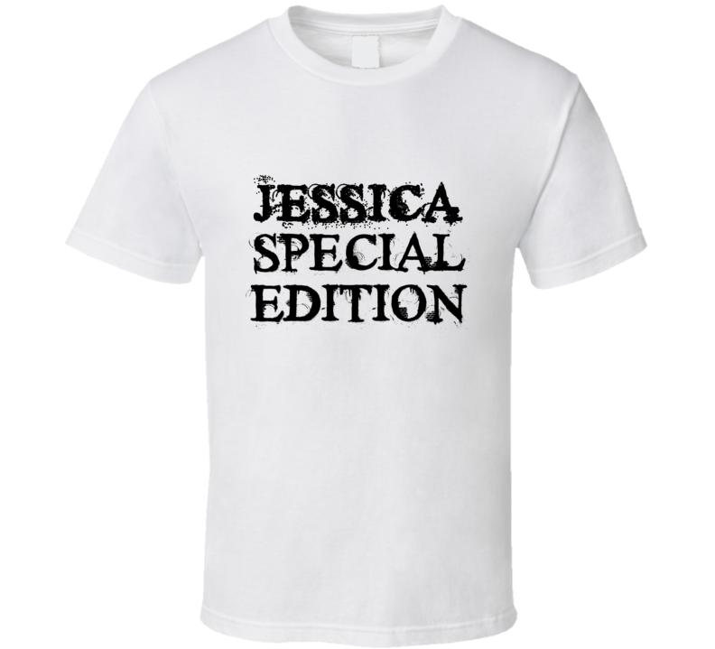 Jessica Special Edition Name T Shirt