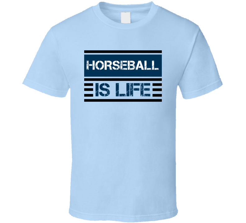 Horseball Sport Is Life Athletic T Shirt