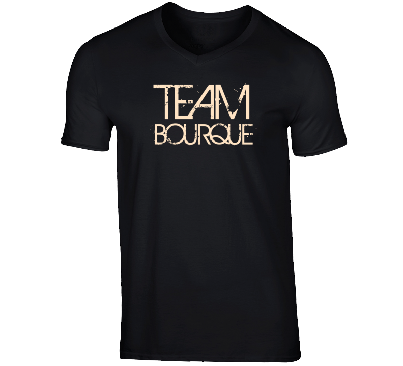 Team Sports Last First Name Bourque T Shirt