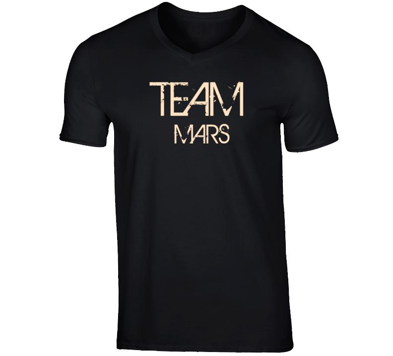 Team Sports Last First Name Mars T Shirt