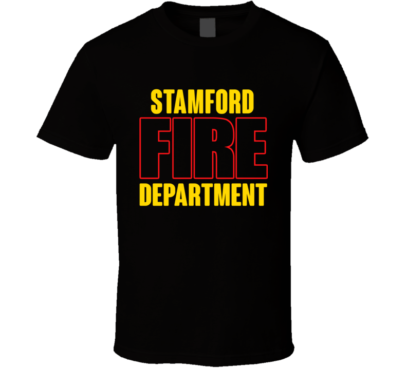 Stamford Fire Department Personalized City T Shirt