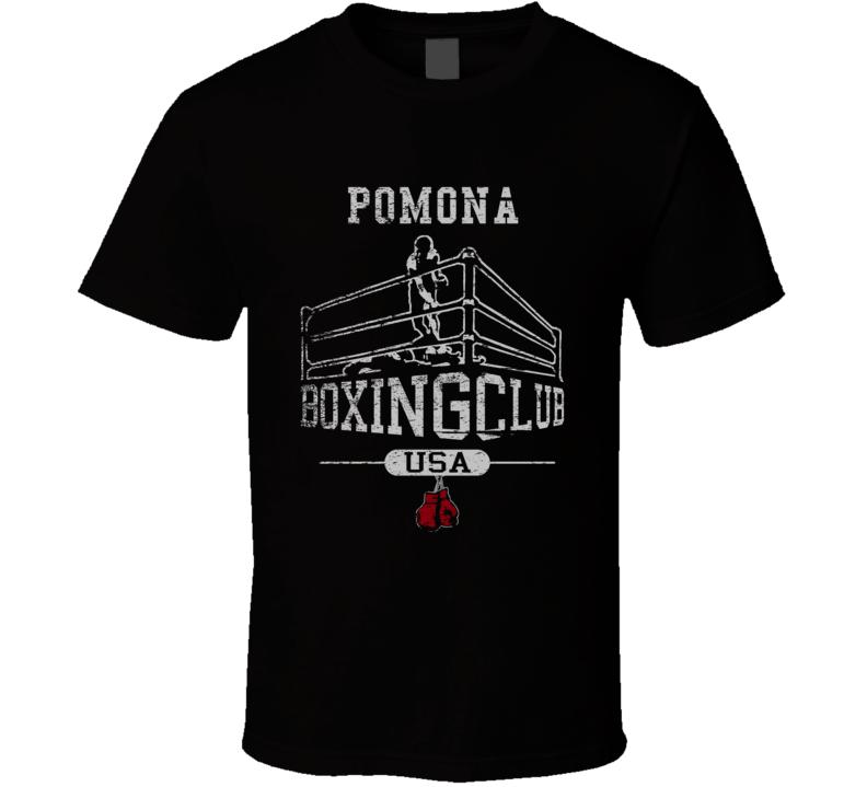 Pomona Boxing Club Gym T Shirt