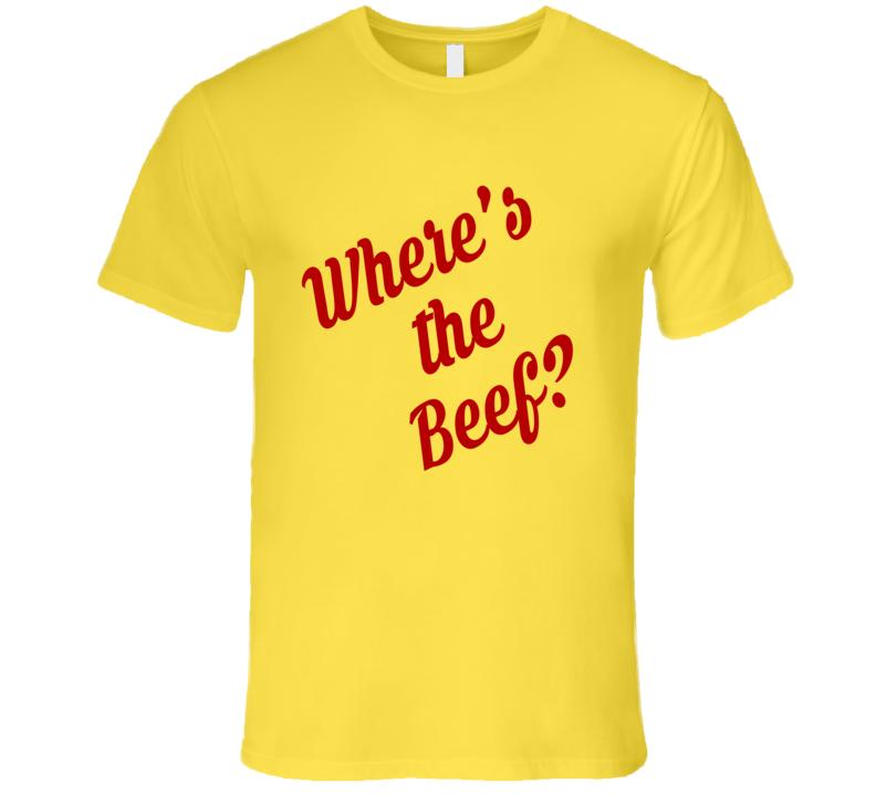 Wheres The Beef Fun Hot Tub Time Machine Popular Movie T Shirt