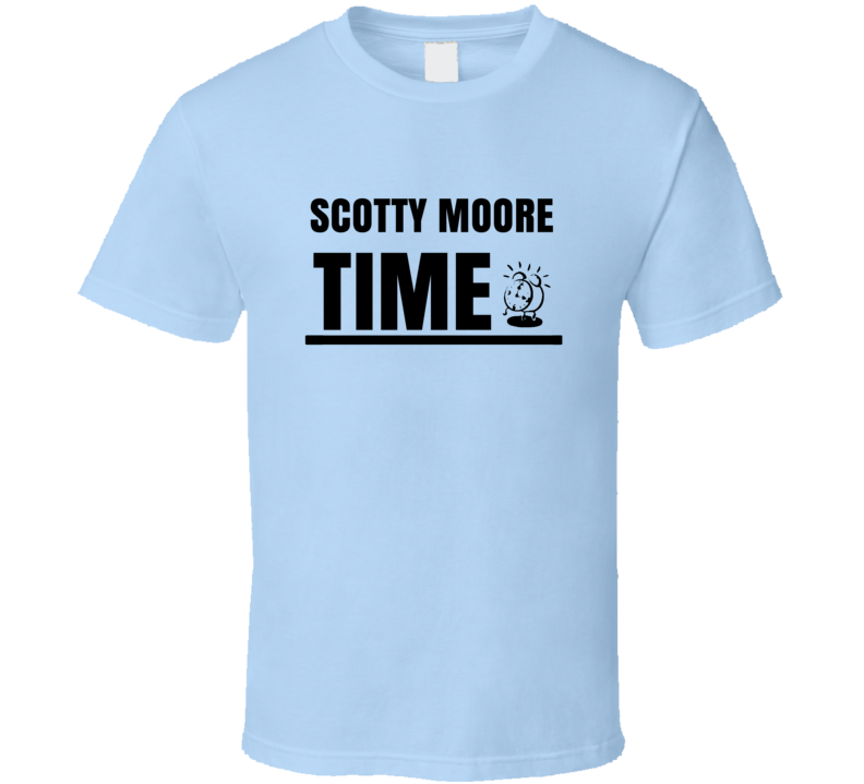 Scotty Moore Time Rock And Roll Hall Of Fame T Shirt
