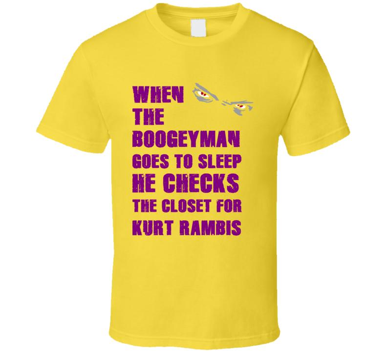 Kurt Rambis California Boogeyman Basketball Hockey Baseball Football T Shirt