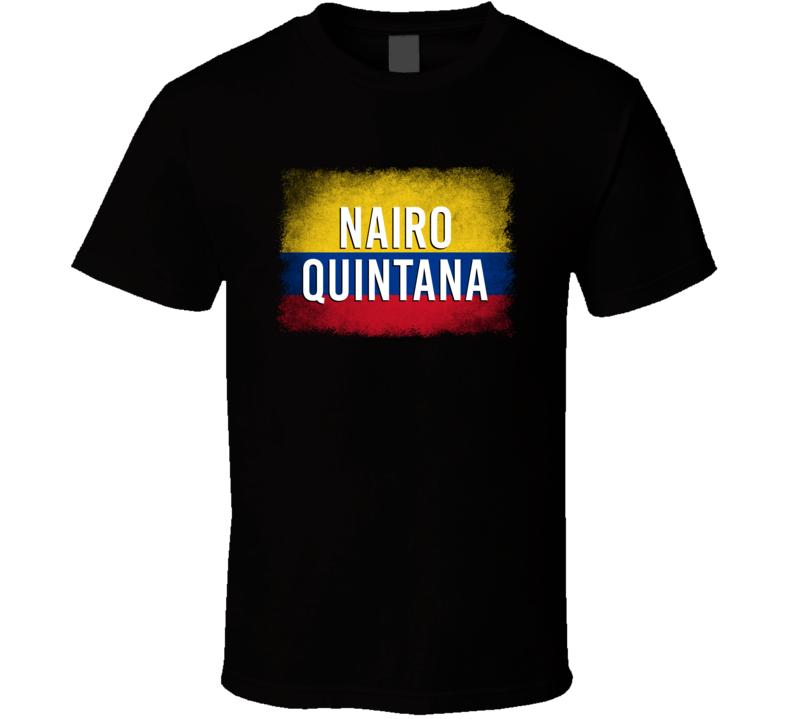 Country Flag Nairo Quintana Colombia Cycling Olympics T Shirt