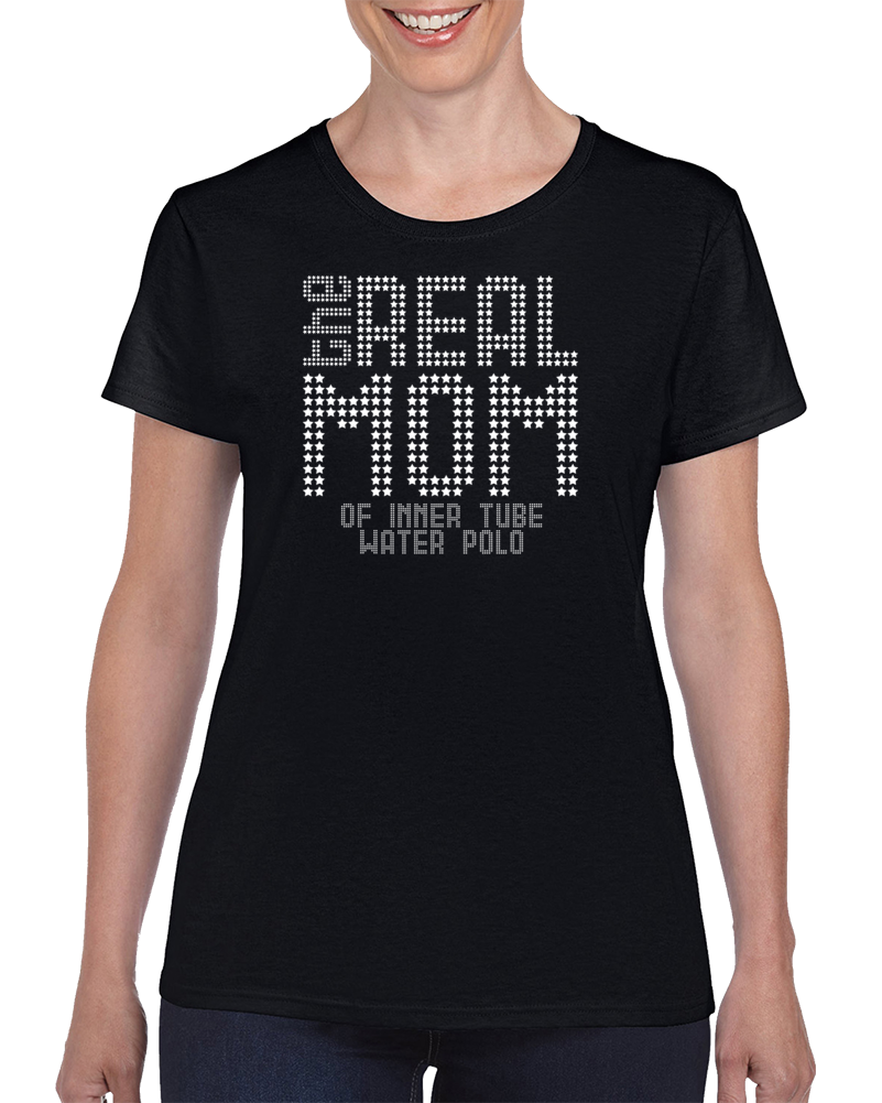 The Real Mom Of Inner Tube Water Polo Women's T Shirt