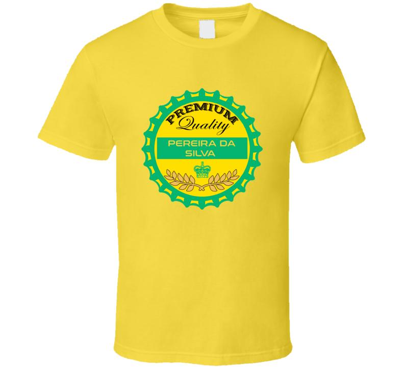Weverton Pereira Da Silva Beer Cap Favorite Player Brazil World Cup 2018 Football Fan T Shirt