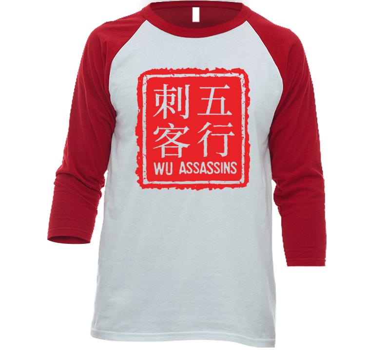 Wu Assassins Netflix Original Series Fan Raglan T Shirt