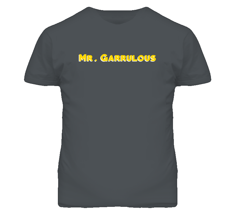 Mr. Garrulous Adjective Funny Random T Shirt