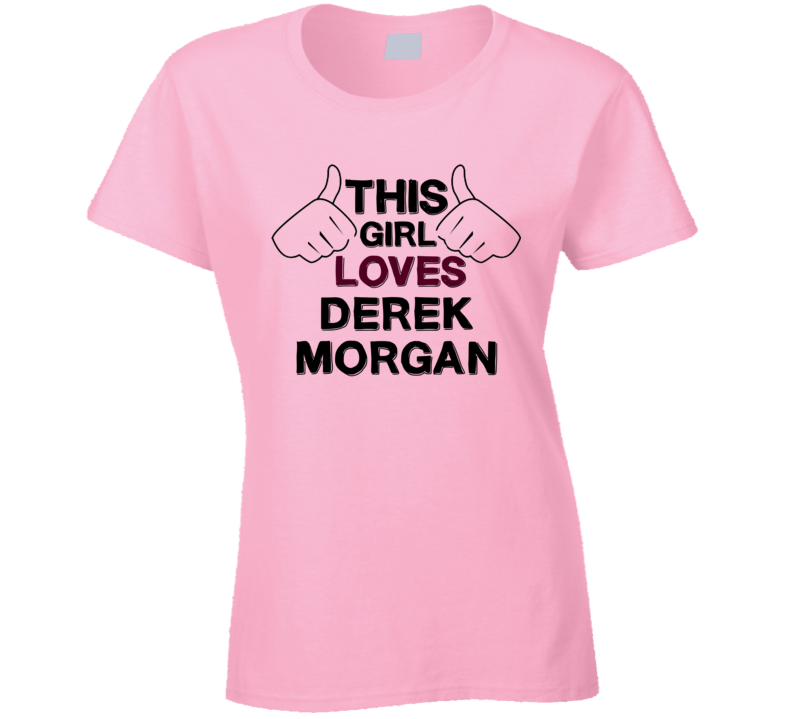 This Girl Derek Morgan Criminal Minds T Shirt