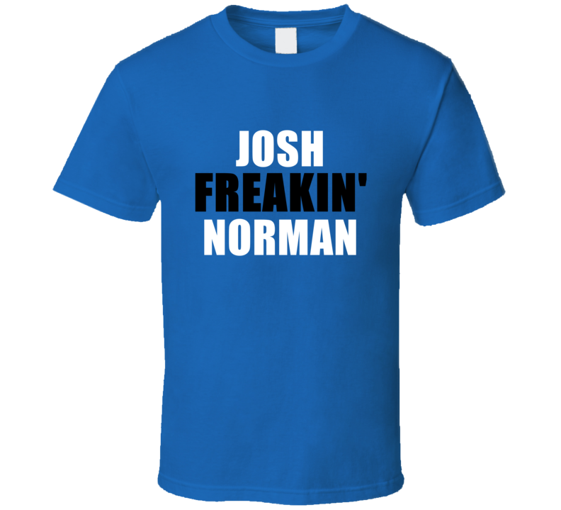 Alstyle Josh Norman Freakin Sports Carolina Football T Shirt Unisex Tshirt