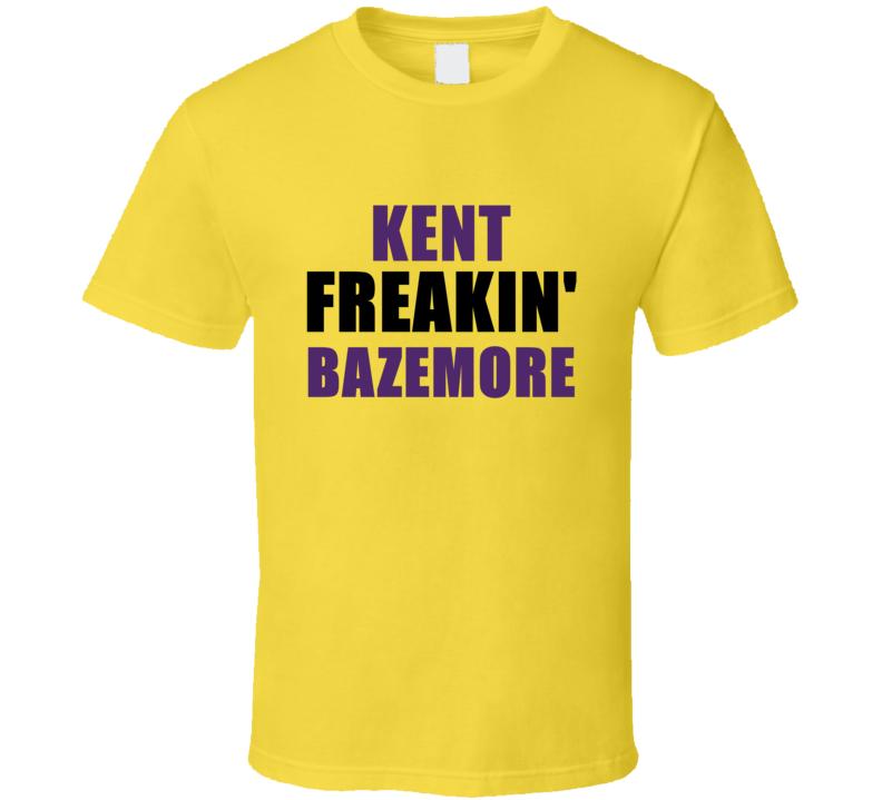 Kent Bazemore Freakin Sports Basketball Los Angeles California T Shirt