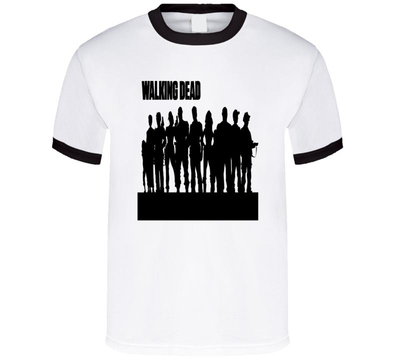 TV Cult Vintage Classic Silhouette T Shirt