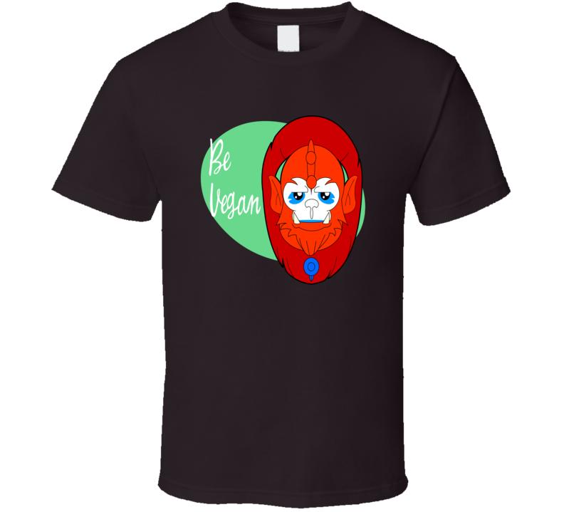Be Vegan Funny T Shirt