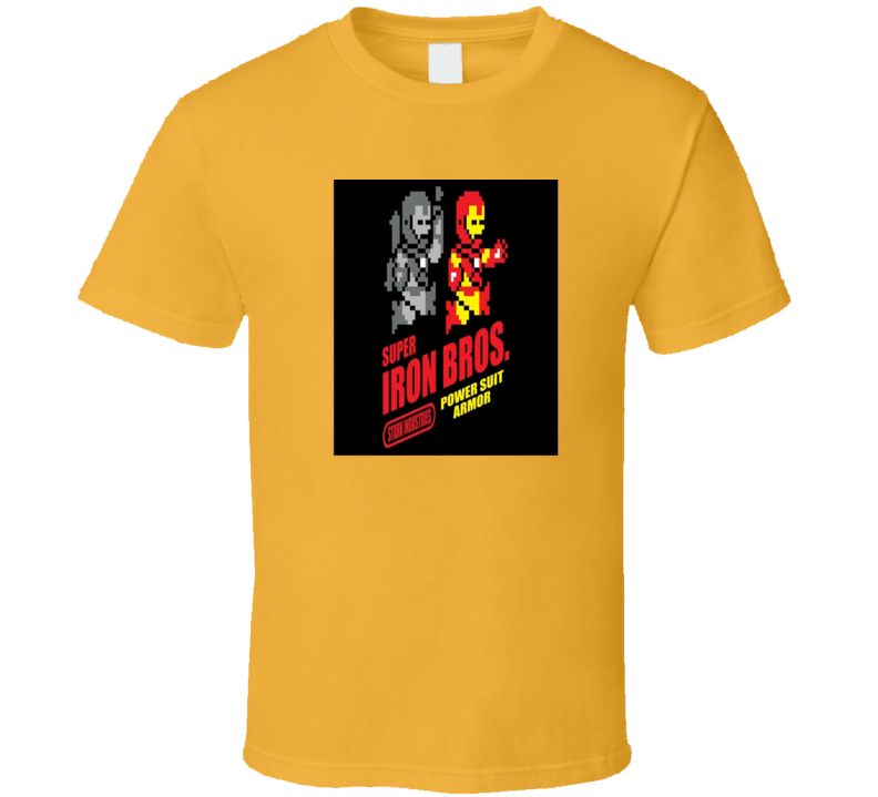 Hero Comic Parody Movie Video Game T Shirt