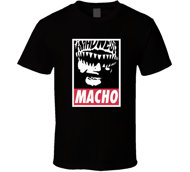 Retro Wrestler 80s Icon Legend Logo T Shirt