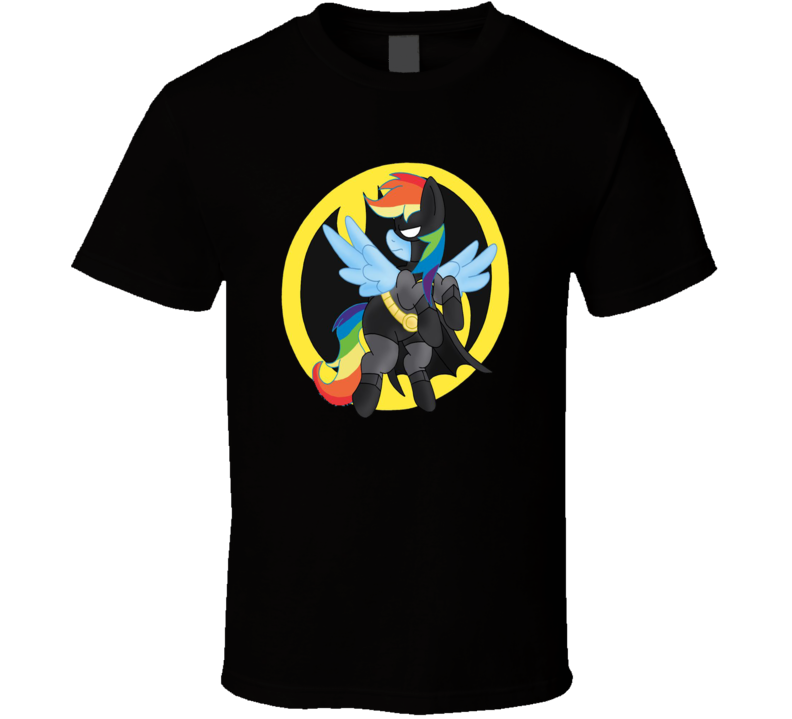 My Little Pony Logo Comic Character Mashup T Shirt