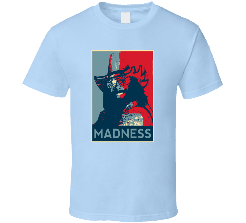 Classic Wrestling Retro Madness Tribute T Shirt