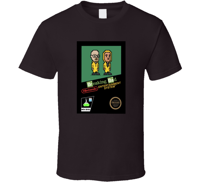 Video Game Tv Show Cult Classic Series Crossover T Shirt