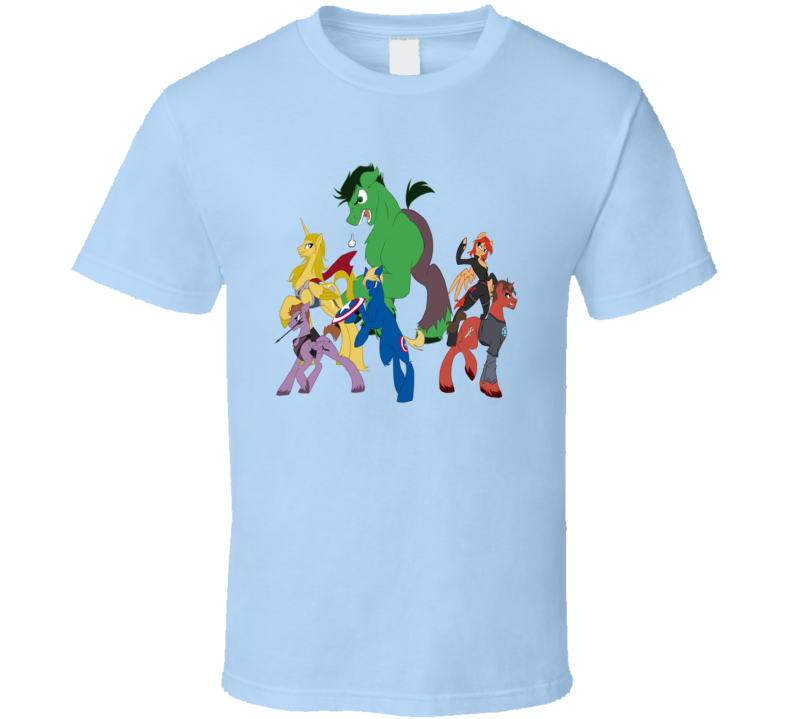 My Little Pony Cartoon Comic Tv Crossover T Shirt