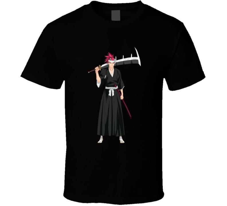 Bleach renji Anime Soul Reaper T Shirt