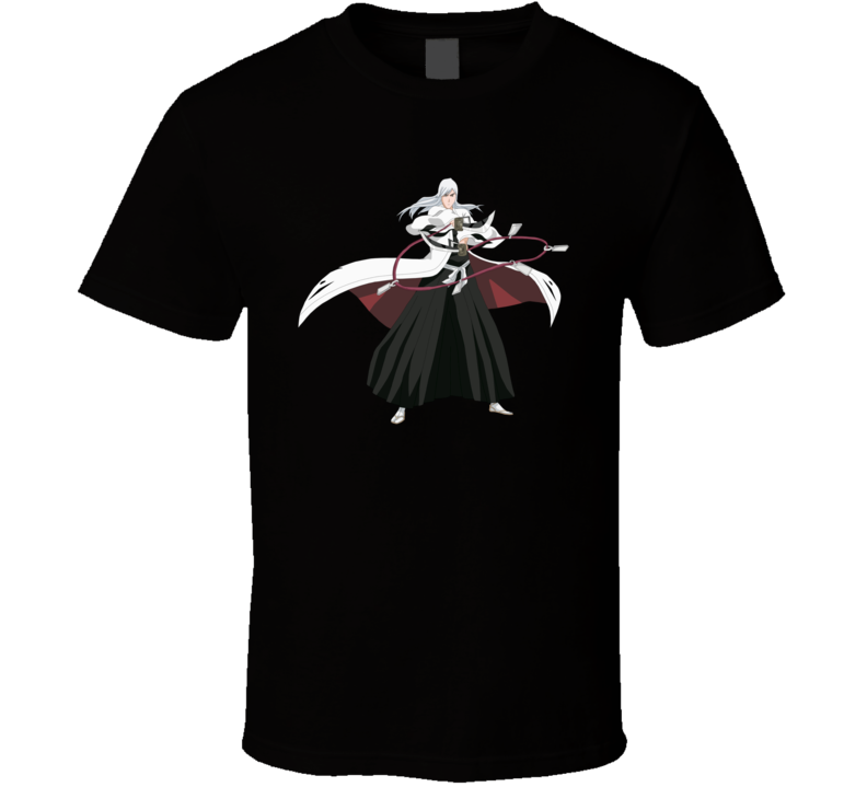 Anime Bleach Jushiro ukitake T Shirt