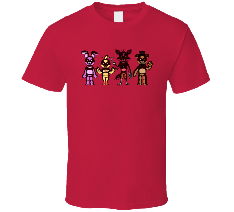 Five Nights at Freddy's Games T Shirt