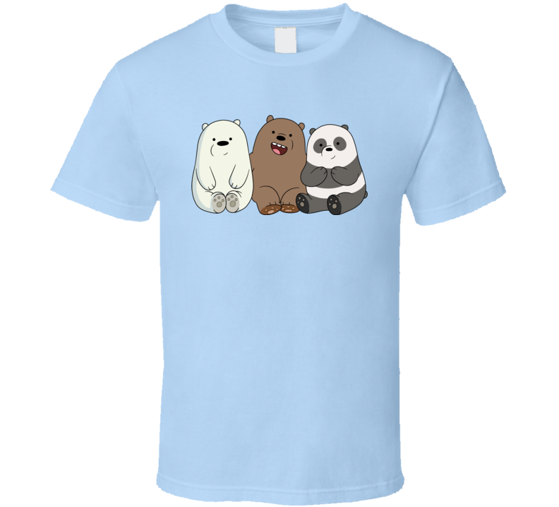 We bare Bears Network T Shirt