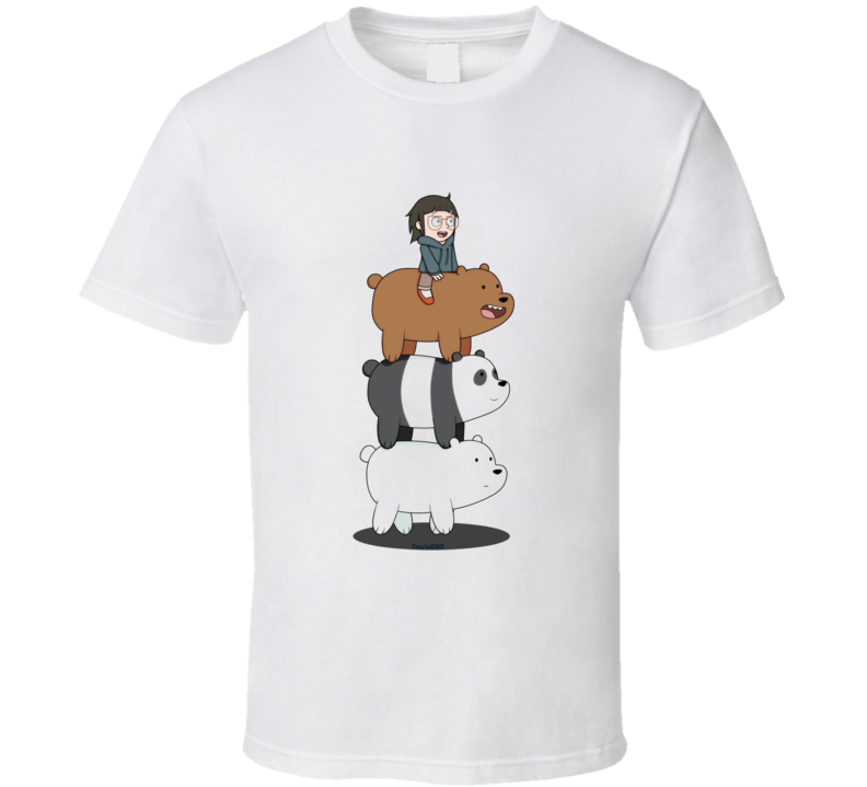 We Bare Bears Chloe Network T Shirt