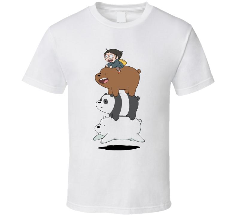 We Bare Bears Chloe Network T Shirt