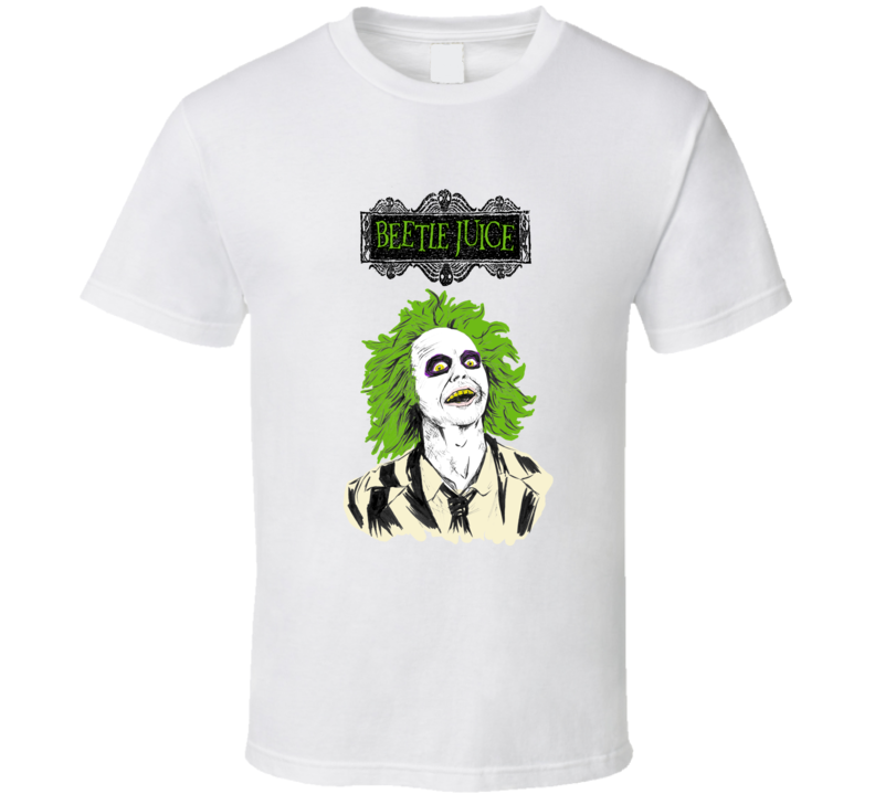 Beetle Juice White T-Shirt