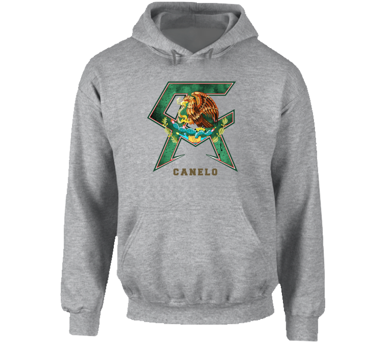 Canelo Alvarez Mexican Boxing Boxer Saul Hooded Pullover Hoodie