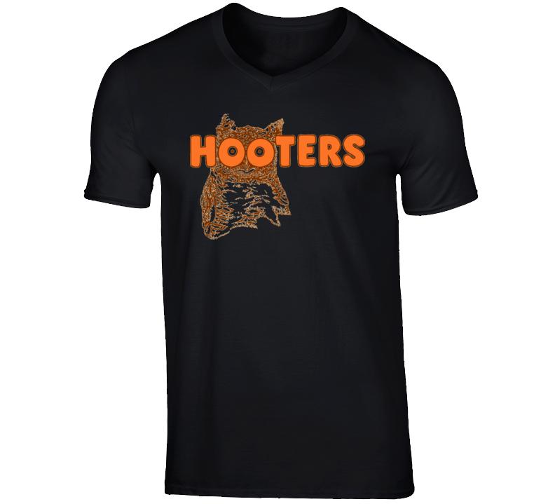 Hooters Owl Girls Boobs T Shirt
