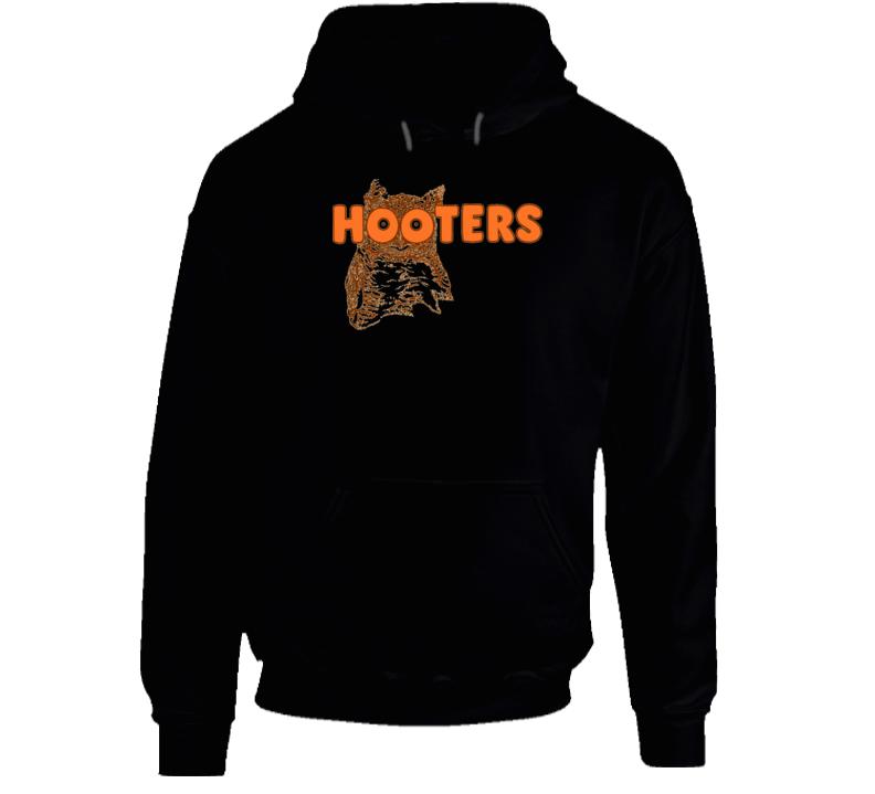 Hooters Owl Girls Boobs Hooded Pullover Hoodie