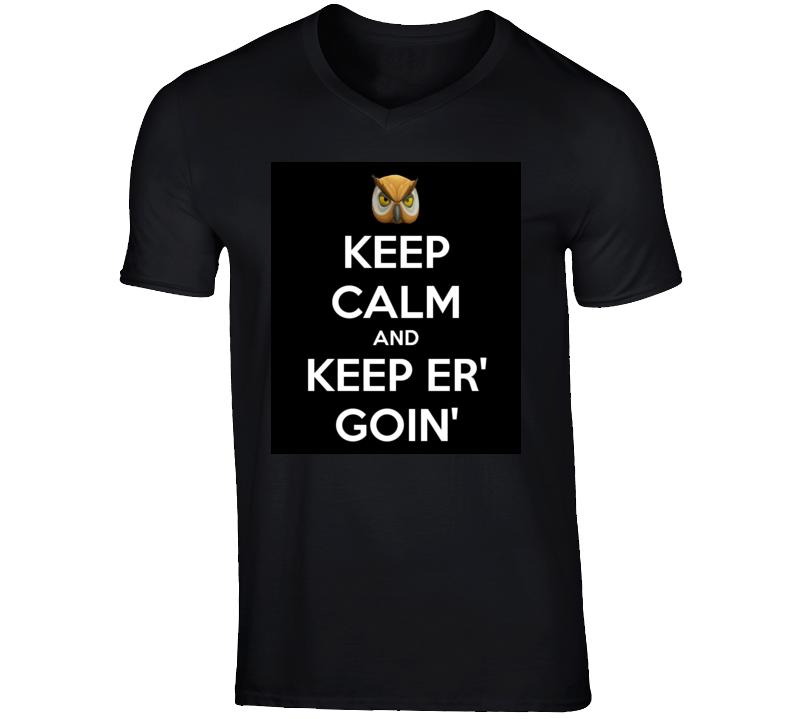Keep calm and keep er' goin' vanoss v neck t shirt