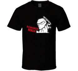 Love  Ninja Love Romance Ninja T Shirt
